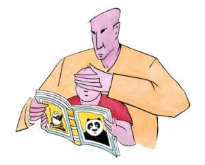 Illustrazione di Doriano Solinas per il «Corriere del Ticino»